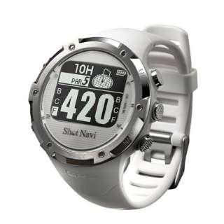 時計型GPSゴルフウォッチ ShotNavi(ホワイト) W1-GL-WH【国内&海外対応】