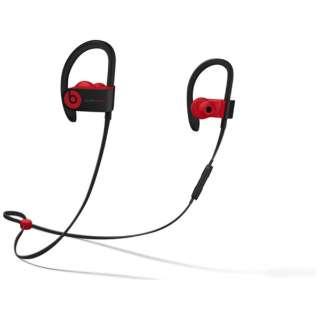 bluetooth イヤホン カナル型 MRQ92PA/A ブラックレッド [リモコン・マイク対応 /ワイヤレス(ネックバンド) /Bluetooth]