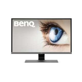 ディスプレイ BenQEシリーズ メタリックグレー EW3270U [31.5型 /ワイド /4K(3840×2160)]