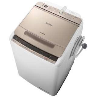 BW-V80C 全自動洗濯機 ビートウォッシュ シャンパン [洗濯8.0kg /乾燥機能無 /上開き]