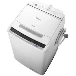 BW-V80C 全自動洗濯機 ビートウォッシュ ホワイト [洗濯8.0kg /乾燥機能無 /上開き]