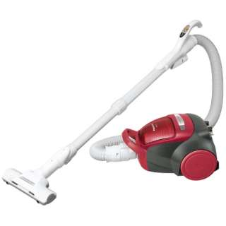 MC-SK17A サイクロン式掃除機 レッド [サイクロン式]