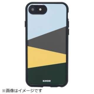 iPhone 8 / 7用 BONDIR CLEAR COAT 272-011-BND COLOR BLOCK