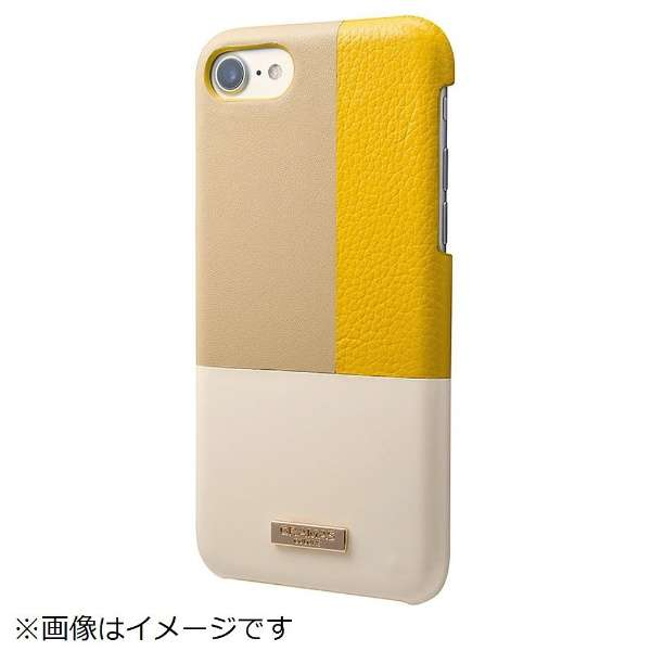 iPhone 8 / 7用 Nudy Leather Case Limited CLC2196LYL Yellow