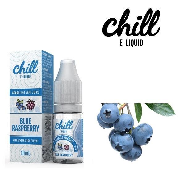 電子たばこ用リキッド ブルーラズベリー 「Chill E-Liqiud」(10ml) LU-7102-472
