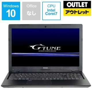 【アウトレット品】 15.6型ゲーミングノートPC [Core i7・HDD 1TB・SSD 256GB・メモリ 8GB・GTX1070] G-TUNE  BCGN5I77HQM8S2H1G17 【生産完了品】
