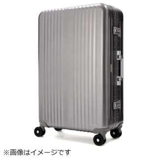 一枚成型アルミスーツケース 1000-60-GM ガンメタル