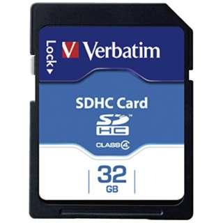 SDHCカード Verbatim(バーベイタム) SDHC32GYVB2 [32GB /Class4]