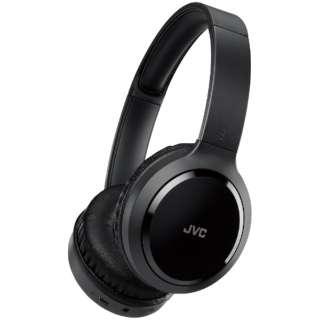 ブルートゥースヘッドホン ブラック HA-S78BN [リモコン・マイク対応 /USB /ノイズキャンセリング対応]