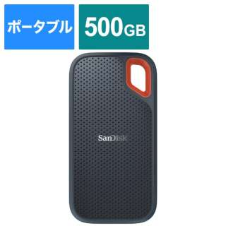 SDSSDE60-500G-J25 外付けSSD Extreme [500GB /ポータブル型]