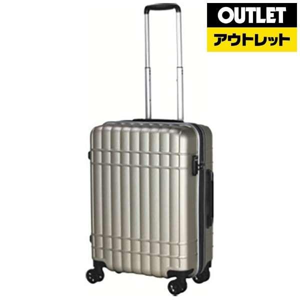 【アウトレット品】 スーツケース 32L シボゴールド SIF2100-56 [TSAロック搭載] 【数量限定品】