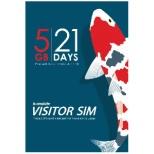 標準SIM 「b-mobile VISITOR SIM 5GB 21days Prepaid data」 BM-VSC-5GB21D [SMS非対応 /標準SIM]