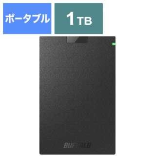 HD-PCG1.0U3-BBA 外付けHDD ブラック [ポータブル型 /1TB]