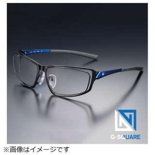 G-SQUAREアイウェア Professional Model フルリム C2FGEB6DBNP5593 フレーム:ブルー、レンズ:ブラウン