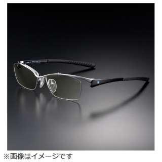 G-SQUAREアイウェア Professional Model ナイロール C2FGENWBLNP7061 フレーム:ブラック、レンズ:ワインレッド