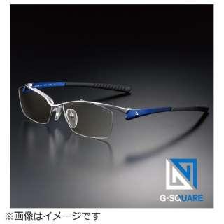G-SQUAREアイウェア Professional Model ナイロール C2FGENWDBNP7078 フレーム:ブルー、レンズ:ワインレッド