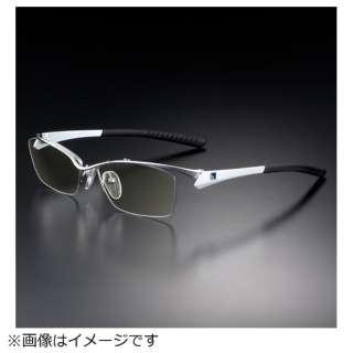 G-SQUAREアイウェア Professional Model ナイロール C2FGENWWHNP7092 フレーム:ホワイト、レンズ:ワインレッド