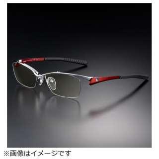 G-SQUAREアイウェア Professional Model ナイロール C2FGENGRENP7122 フレーム:レッド、レンズ:グレー
