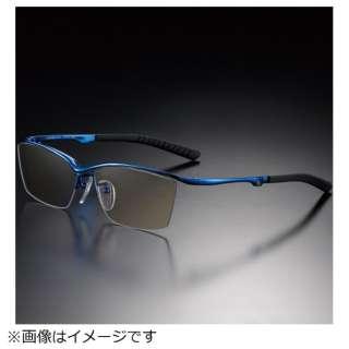 G-SQUAREアイウェア Casual Model ナイロール C2FGEN4BUNP9003 フレーム:ブルー、レンズ:ブラウン