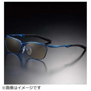 G-SQUAREアイウェア Casual Model フルリム C2FGEF4BUNP9232 フレーム:ブルー、レンズ:ワインレッド