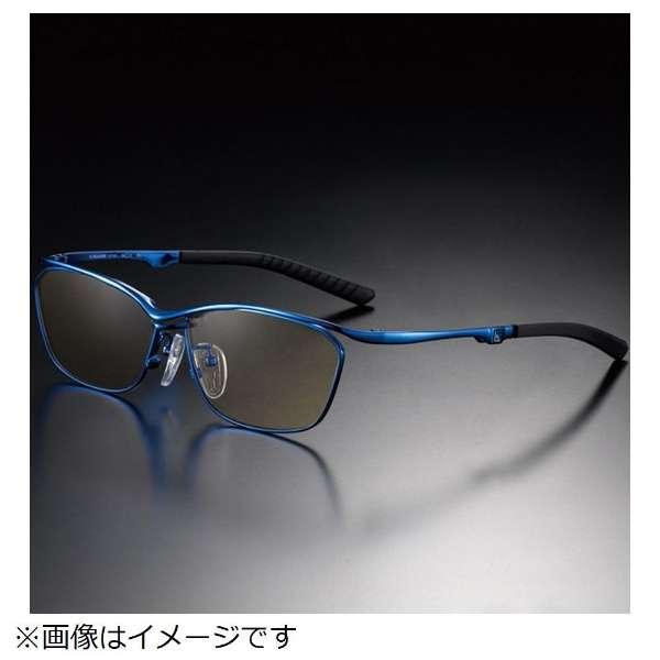 G-SQUAREアイウェア Casual Model フルリム C2FGEF4BUNP9249 フレーム:ブルー、レンズ:ブラウン