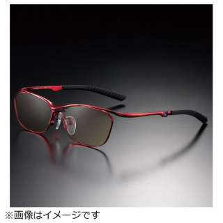 G-SQUAREアイウェア Casual Model フルリム C2FGEF4RENP9263 フレーム:レッド、レンズ:ワインレッド