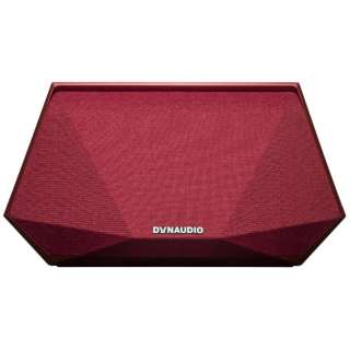 MUSIC 3 RED WiFiスピーカー レッド [ハイレゾ対応 /Bluetooth対応 /Wi-Fi対応]