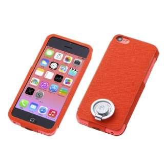 iPhone5c Multi Function Design ケース Orange DCS-MI5CPL01OR