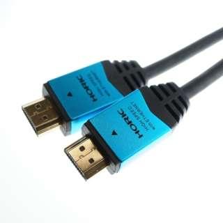 HDM15-893BL HDMIケーブル ブルー [1.5m /HDMI⇔HDMI /イーサネット対応]