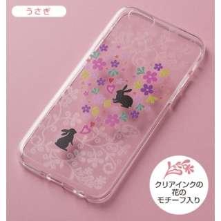 iPhone6 (4.7) ソフトケース うさぎ UT6102