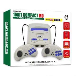 16ビットコンパクトMD(MD互換機) CC-16CPM-BK [ゲーム機本体]