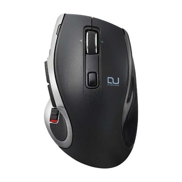 M-DC01MBBK マウス ブラック [BlueLED /8ボタン /USB /無線(ワイヤレス)]