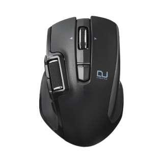 M-DWS01DBBK マウス ブラック [BlueLED /6ボタン /USB /無線(ワイヤレス)]