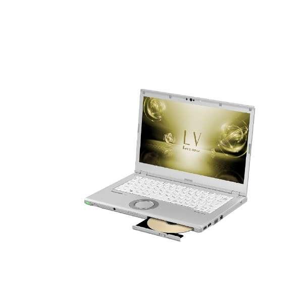 CF-LV72DFQR ノートパソコン Let's note(レッツノート)LVシリーズ シルバー [14.0型 /intel Core i5 /SSD:128GB /メモリ:8GB /2018年6月モデル]