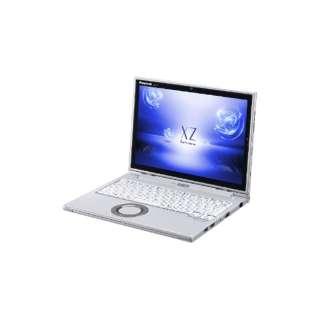 CF-XZ62DCQR ノートパソコン Let's note(レッツノート)XZシリーズ シルバー [12.0型 /intel Core i5 /SSD:256GB /メモリ:8GB /2018年6月モデル]