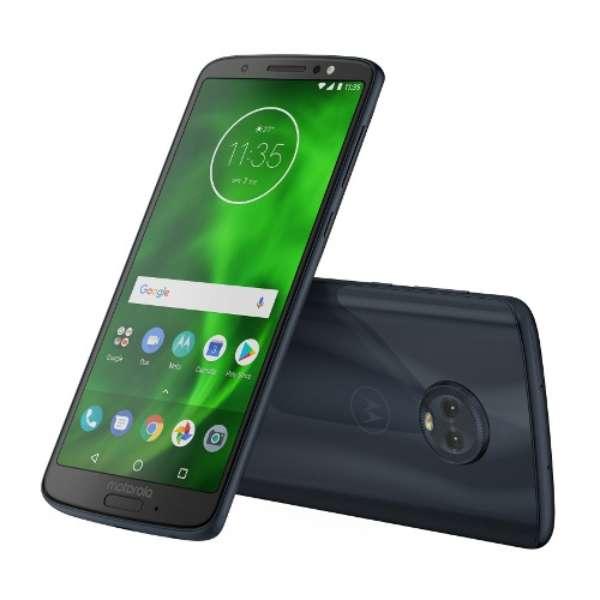 Moto G6 ディープインディゴ 「PAAG0028JP」Snapdragon450 5.7型・メモリ/ストレージ: 3GB/32GB  nanoSIMx2 DSDS対応 SIMフリースマートフォン