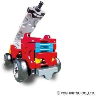 LaQ ハマクロンコンストラクター ミニ 消防車