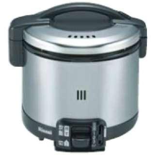 RR-035GS-D ガス炊飯器 こがまる GSシリーズ ブラック [3.5合 /都市ガス12・13A]