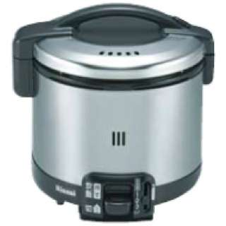 RR-035GS-D ガス炊飯器 こがまる GSシリーズ ブラック [3.5合 /プロパンガス]
