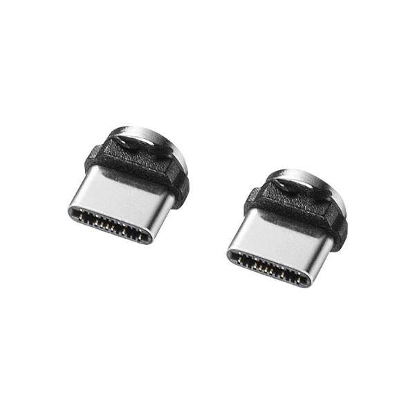 Magnet脱着式USB Type Cコネクタ部品セット KU-MMG-C3K