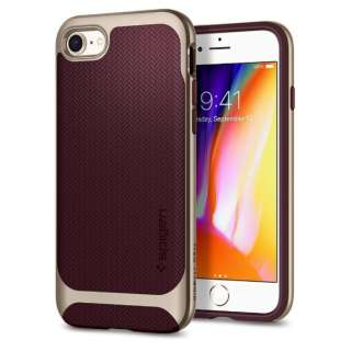 iPhone 8/7  Neo Hybrid Herringbone Burgundy 054CS22198