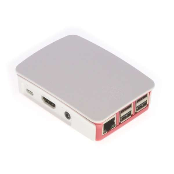 Raspberry Pi 3 Model B ケースセット Type A RASST3BCASR/W2 Red