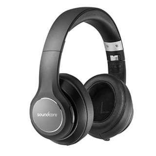 ブルートゥースヘッドホン ブラック A3031011 [リモコン・マイク対応 /Bluetooth]