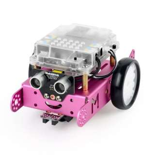 〔ロボットキット:iOS/Android対応〕 mBot V1.1-Pink(Bluetooth Version) 99095