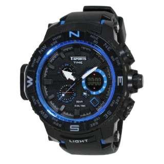 T-SPORTS analog & digital watch TS-AD096-BL TS-AD096-BL