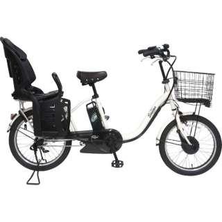 【単品購入時メーカー直送】20型 電動アシスト自転車 スイミーミニ203(ホワイト/内装3段変速) EMR203【2018年モデル】 【組立商品につき返品不可】