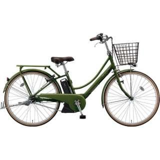 26型 電動アシスト自転車 アシスタプリマ(E.Xダークオリーブ/内装3段変速)A6PC18【2019年モデル】 【組立商品につき返品不可】