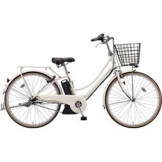26型 電動アシスト自転車 アシスタプリマ(E.Xミルクティーベージュ/内装3段変速)A6PC18【2019年モデル】 【組立商品につき返品不可】