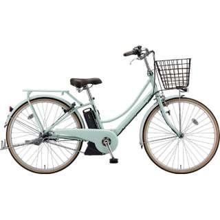 26型 電動アシスト自転車 アシスタプリマ(E.Xグレイッシュミント/内装3段変速)A6PC18【2019年モデル】 【組立商品につき返品不可】