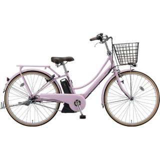 26型 電動アシスト自転車 アシスタプリマ(E.Xグレイッシュピンク/内装3段変速)A6PC18【2019年モデル】 【組立商品につき返品不可】
